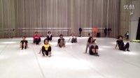 上海金星舞蹈团培训班地面组合
