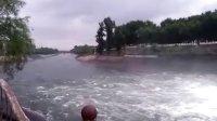 铁岭市清河水库闸门放水精彩视频