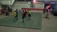 决赛:中都郦城VS华安保险第一局(岑溪卫生体育Q群气排球联赛)