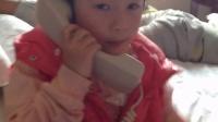 在岳阳酒店打电话
