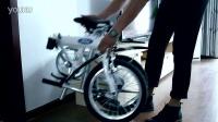 超便携福特折叠自行车