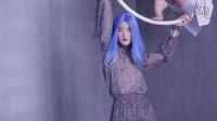 蓝发名模Lina 长隆马戏团梦幻时装秀