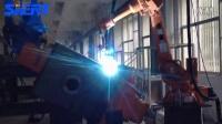 思尔特机器人江阴液压焊接案例