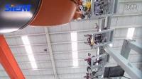 思尔特机器人门盖涂胶生产线