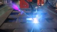 思尔特机器人重卡车部件焊接系统演示
