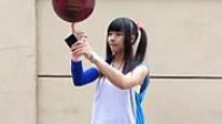 手指传手机 美女炫球技 篮球 20140622_093559-10