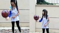美女炫球技 篮球 20140622