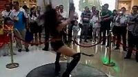 美女高难度钢管舞 20140621
