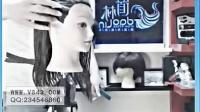 日韩风格内扣发型技术裁剪视频