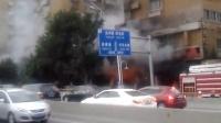 福州连江路锦宫桑拿着火