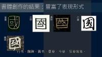 黄简讲书法:初级课程 02 什么是书法 ﹝简体版﹞