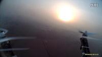 石家庄市长安区南石家庄村观天下小区航拍12月10日