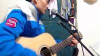 贵州贵阳流浪歌手,在一出租屋内(歌唱,坚强的理由)Q1274722750