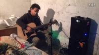 贵州贵阳流浪歌手、在一出租屋内、为想梦想歌唱Q1274722750
