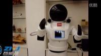 北京智能佳迎宾机器人(宇航员)演示视频