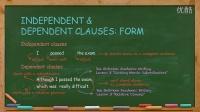 英语写作English Writing Lesson 1: Independent Clauses