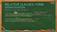 英语写作English Writing Lesson 3a: Relative Clauses