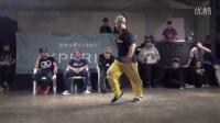 SANTA (BREEZIN  PINOCCHIO) vs HORI SEMI FINAL②  DANCE@LIVE HOUSE HOKURIKU 2015