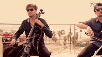 CBSPopUp- 2Cellos - -Smooth Criminal'