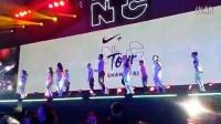 Nike NTC Tour @SH 千人par开场舞