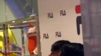 【FANCAM】2015-05-15  YongHwa & JungShin Open FILA iSQUARE Shop in HK
