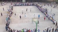 兴仁县黔龙学校学生篮球赛