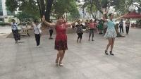 中山港口广场舞,姑娘你真美