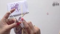 提花编织的四种压线方法 fair isle knitting