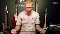 Kiesel Guitars model ARIES neck Dual Carbon Fiber Rods