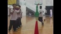 高一體育《籃球——持球交叉步突破》教學視頻,高中體育名師工作室教學視頻