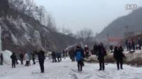 鱼跃九天群济源东沟看冰挂