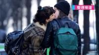 克里斯汀与女友街头热吻 牵手逛街秀恩爱 160316