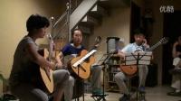 排练古典吉他三重奏-莫扎特《维也纳奏鸣曲》
