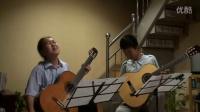 排练二重奏-2CZ-283-朱利亚尼《音乐会波罗乃兹舞曲》