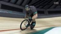 """視頻: """"綠巨人""""Ion G?ttlich的場地自行車訓練"""
