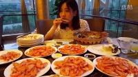 中国大胃王密子君(自助餐主吃基围虾系列)吃播吃货