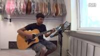 阜新8音吉他学生 扎史尼玛演唱 一路顺风