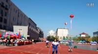 二中獨輪車 2016運動會初二女子200米獨輪車競速1