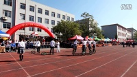 二中獨輪車 2016運動會八年三班入場