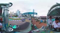 2016国际汽联电动方程式锦标赛香港站360度全景发车视频!