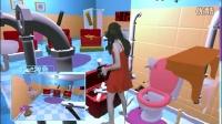 《PIPE JOB VR》屎上最牛死法 喷屎洗手间 59