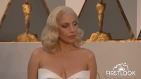 Lady Gaga arrives at the 2016 Oscars in Hollywood