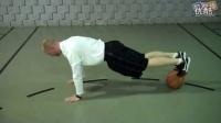 利用籃球進行核心體能力量訓練_育增強爆發力更強壯高清