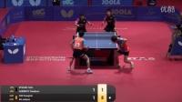 2016国际乒联世青赛 男双决赛 安在炫/赵承敏 vs 张本智和/龙崎东寅