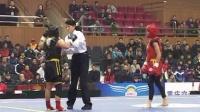 2010年第五届世界杯武术散打比赛 决赛 01 女子48KG 红方(土尔其)VS 黑方(罗马尼亚)