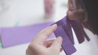 手工纸折花:不会凋谢的风信子