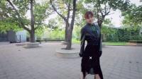 皮衣伞裙神奇穿搭术 修身藏肉立显S型身材 161220