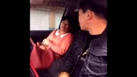 二货姑娘出租车上睡着了,醒来之后司机师父都乐了