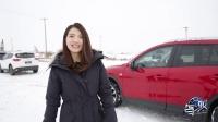 CX-5晓敏新疆滑雪 魔鬼城里有故事 02
