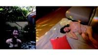 雪莉游台湾薄纱洋装超性感 左手无名指有戒指踪迹 170109